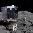 La Rosetta su una cometa