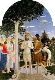 Battezzò Gesù, vestito di peli di cammello mangiava cavallette e miele selvatic