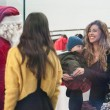 Belen e Ceclia Rodriguez, shopping con Santiago212