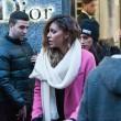 Belen e Ceclia Rodriguez, shopping con Santiago05