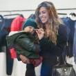 Belen e Ceclia Rodriguez, shopping con Santiago08