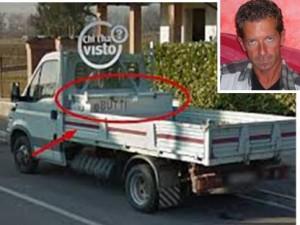 Il furgone Iveco Daily  di Bossetti