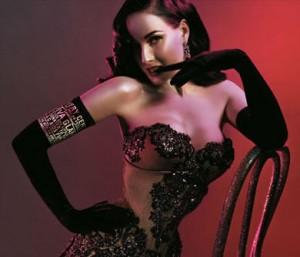 Dita Von Teese, la più famosa ballerina di burlesque