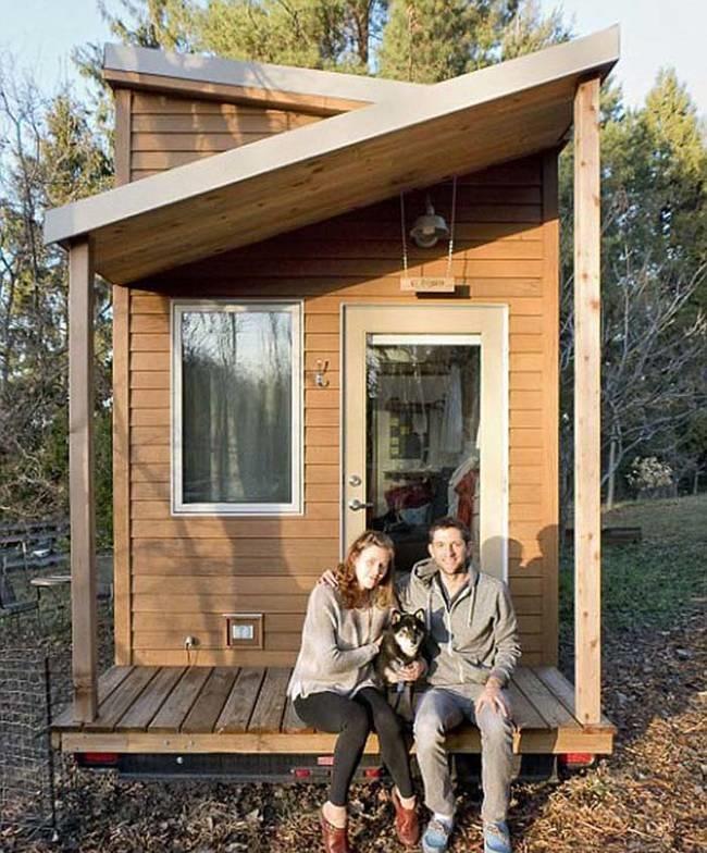 Tiny house in texas la citt con solo case piccole e for Grandi case economiche