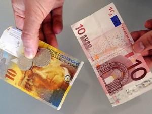 """esiste infatti una soglia considerata """"da non superare"""" nel rapporto euro-franco, soglia fissata ad 1 euro uguale 1,20 franchi"""