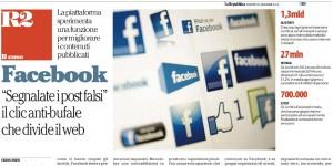 Facebook prova il tasto anti-bufale. Ma forse non è una buona notizia