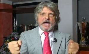 """Massimo Ferrero, auguri di Natale in rima. """"Fate l'amore e mangiate"""" VIDEO"""