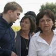 Alberto Stasi, sua madre e la madre di Chiara Poggi (LaPresse)