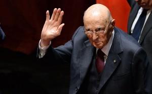 Napolitano, il primo addio: ultimo saluto alle alte cariche