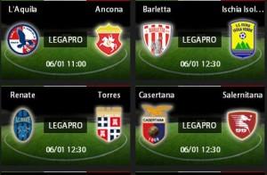 L'Aquila-Ancona: diretta streaming su Sportube.tv, ecco come vederla