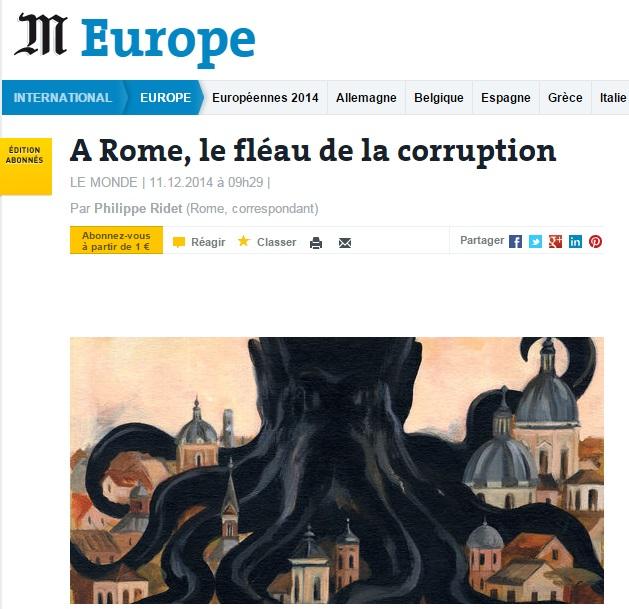 La vignetta del Le Monde