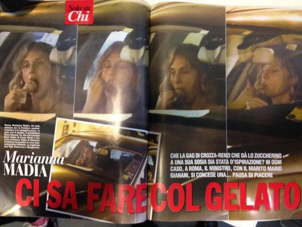 Berlusconi e il gelato: scampa l'effetto Marianna Madia con la coppetta FOTO