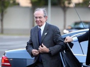 Il ministro dell'economia Pier Carlo Padoan (foto Ansa)
