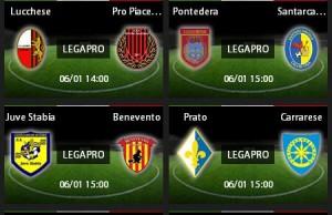 Prato-Carrarese: diretta streaming su Sportube.tv, ecco come vederla