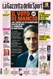 """Roberto Mancini: """"Per Inter in Champions faccio in bici il cammino di Santiago"""""""