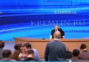 Putin dà dell'ubriaco a giornalista sopravvissuto a due ictus