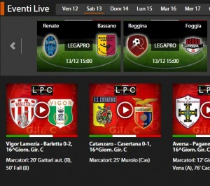 Reggina-Foggia: diretta streaming su Sportube.tv, ecco come vederla