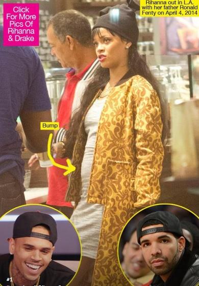 """""""Rihanna è incinta di Drake"""", notizia manda in tilt il web. Foto del pancino"""