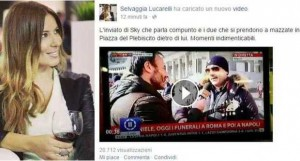 """Selvaggia Lucarelli, napoletani in rivolta: """"Scorrettezza oltre il limite"""""""
