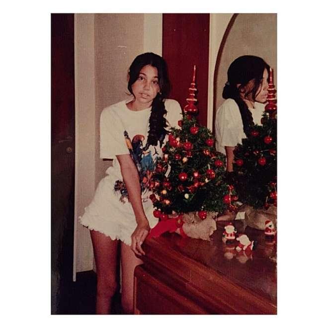 Belen Rodriguez a 13 anni FOTO. I follower si dividono