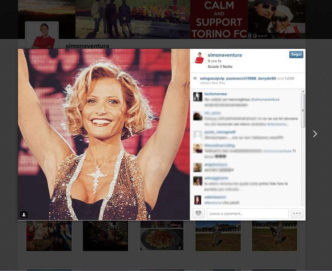 Isola dei Famosi 2015, Simona Ventura esulta su Instagram dopo rinvio FOTO