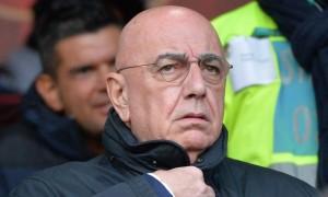 """Milan, curva sud contro Galliani: """"Presi giocatori non di valore e strapagati"""""""
