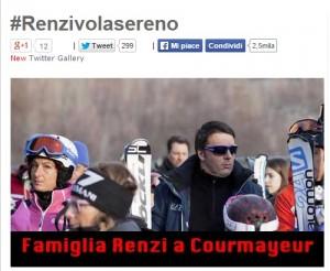 """Beppe Grillo sul blog: """"Renzi vola sereno"""""""