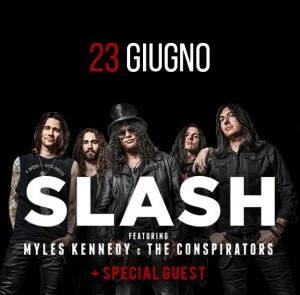 Slash al Rock in Roma 2015: data concerto, biglietti