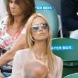 Ester Satorova e Kim Sears: sfida tra wags agli Australian Open07