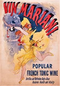 La pubblicità del Vin Mariani