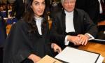 Amal Alamuddin, moglie George Clooney in aula per difendere gli armeni FOTO