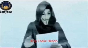 """Anche Anonymous è Charlie Hebdo. Messaggio ai terroristi: """"Vendicheremo strage"""""""