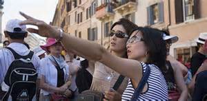 Turiste giapponesi in India