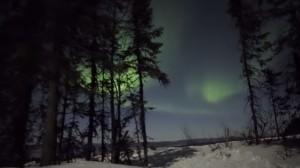 L'aurora boreale in alta risoluzione: il video spettacolare