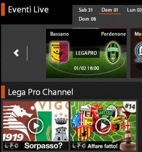 Bassano-Pordenone: diretta streaming su Sportube.tv, ecco come vederla