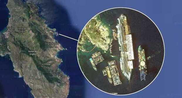 Costa Concordia 3 anni fa il naufragio