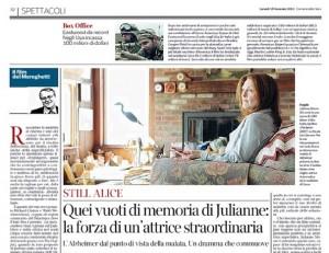 """""""Still Alice"""",  Paolo Mereghetti: """"Julianne Moore protagonista di un dramma che commuove"""""""