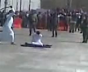 Pubblica decapitazione in ArabiaSaudita