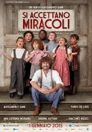 """""""Si accettano miracoli"""", la locandina del film"""