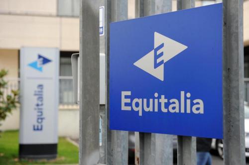 Equitalia (foto Lapresse)