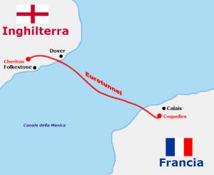 Camion in fiamme nel tunnel della Manica: treni Francia-Inghilterra sospesi