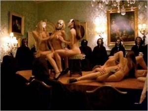 "Una scena tratta dal film di Kubrick ""Eyes Wide Shut"""