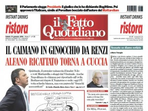 """Marco Travaglio sul Fatto Quotidiano: """"Scusate se diamo notizie"""""""