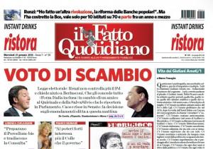 """Marco Travaglio sul Fatto Quotidiano: """"Vita dei Giuliani Amati/1"""""""