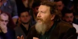 """VIDEO YouTube Marco Travaglio contro Ferrara: """"I tuoi leader finiscono in galera"""""""