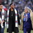 Sampdoria, Massimo Ferrero con Samuel Eto'o e Luis Muriel FOTO02