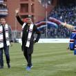 Sampdoria, Massimo Ferrero con Samuel Eto'o e Luis Muriel FOTO03