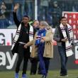 Sampdoria, Massimo Ferrero con Samuel Eto'o e Luis Muriel FOTO05