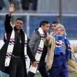 Sampdoria, Massimo Ferrero con Samuel Eto'o e Luis Muriel FOTO06