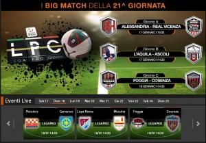 Foggia-Cosenza: diretta streaming su Sportube.tv, ecco come vederla